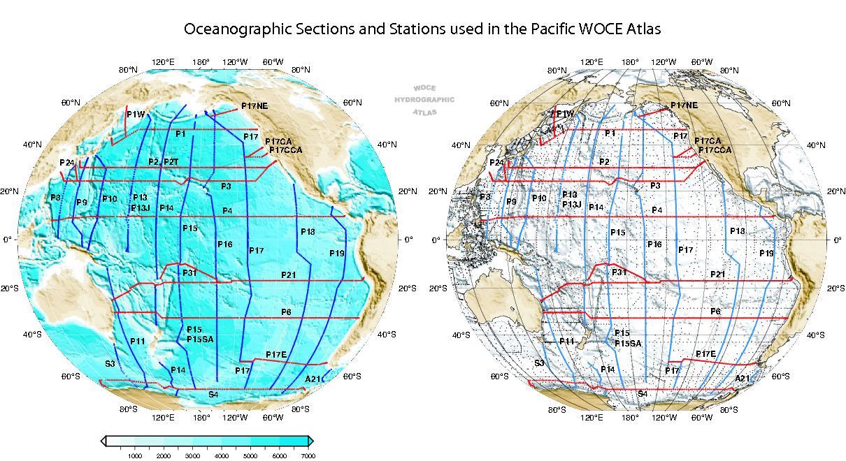 Woce atlas volume 2 pacific ocean printed atlas gumiabroncs Choice Image